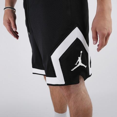 мужские чёрные  шорты jordan psg diamond short BQ8376-010 - цена, описание, фото 3