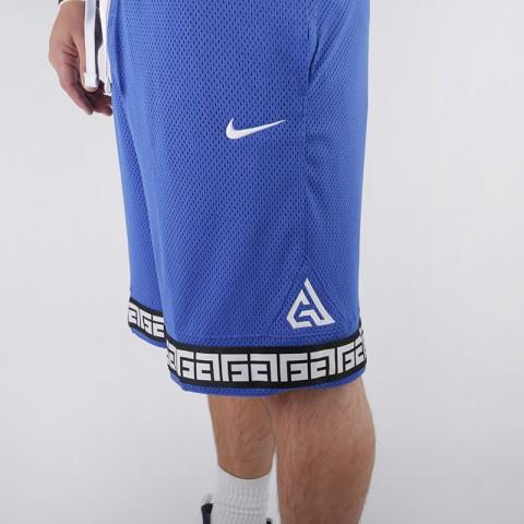 мужские синие  шорты nike giannis logo shorts CD9554-480 - цена, описание, фото 4
