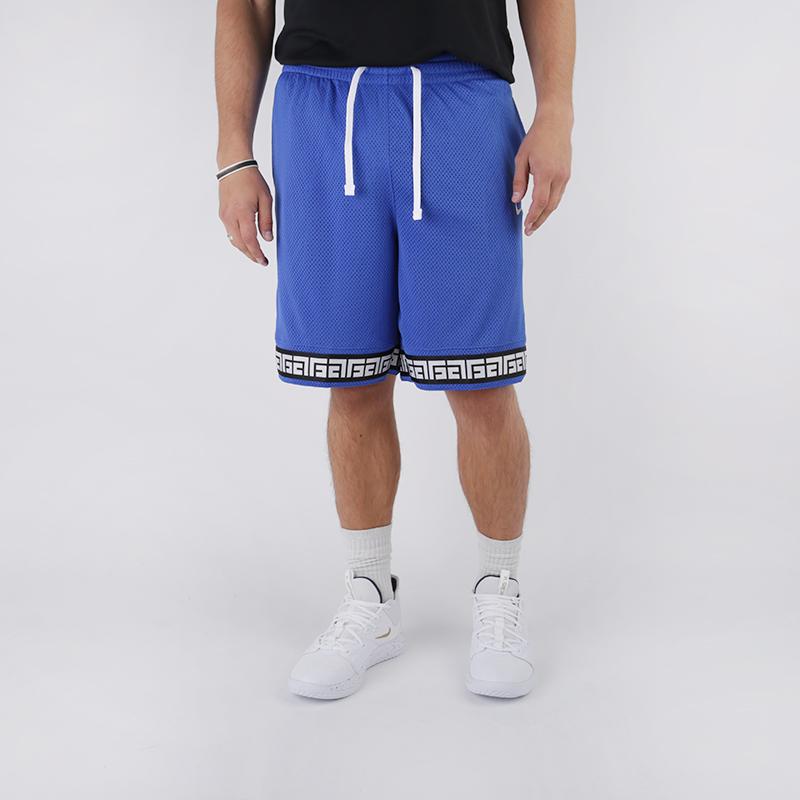 мужские синие  шорты nike giannis logo shorts CD9554-480 - цена, описание, фото 1