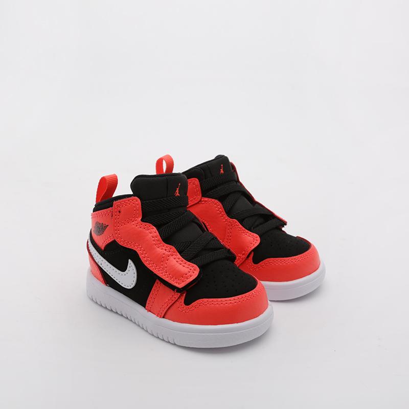 Кроссовки Jordan, 1 Mid Alt (TD, Красный
