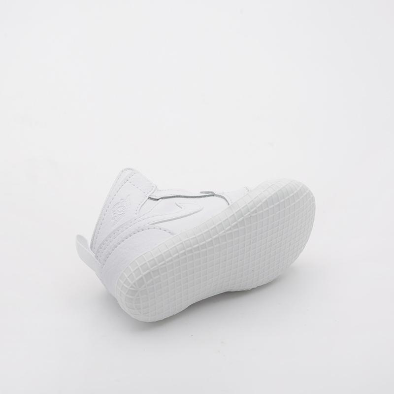 детские белые  кроссовки jordan 1 crib bootie AT3745-100 - цена, описание, фото 3