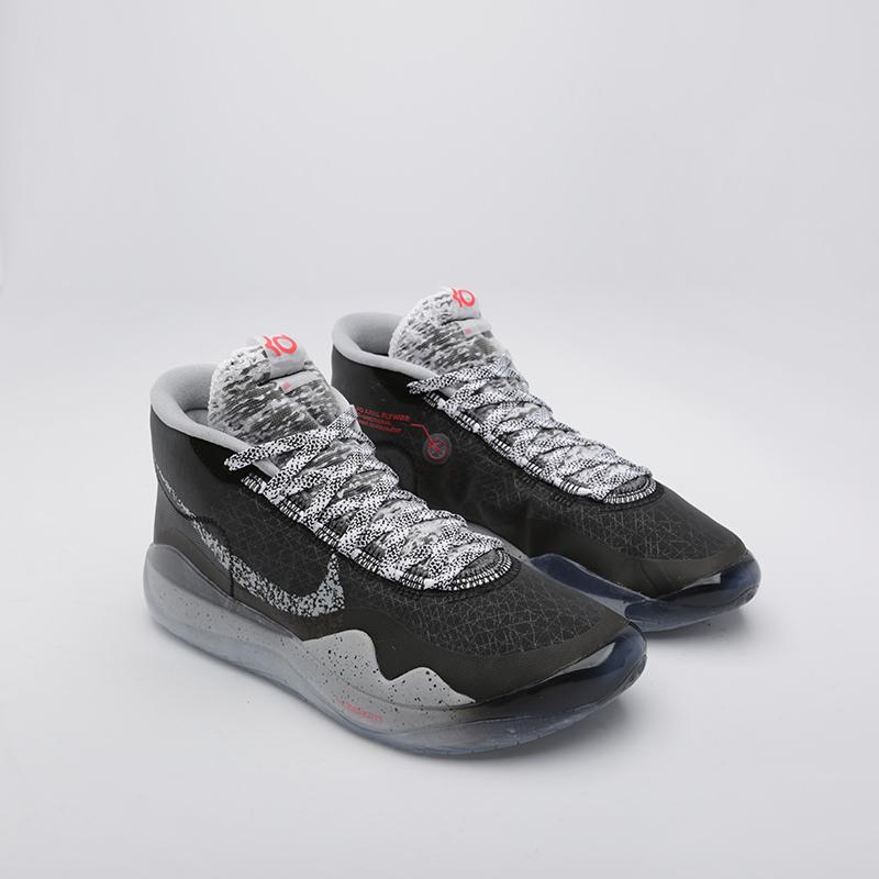 мужские чёрные  кроссовки nike zoom kd12 AR4229-002 - цена, описание, фото 1