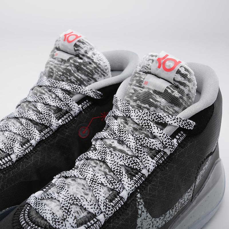 мужские чёрные  кроссовки nike zoom kd12 AR4229-002 - цена, описание, фото 4