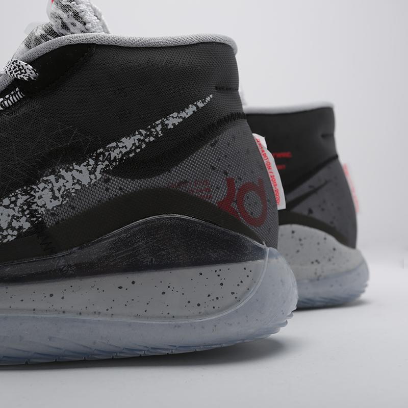мужские чёрные  кроссовки nike zoom kd12 AR4229-002 - цена, описание, фото 5