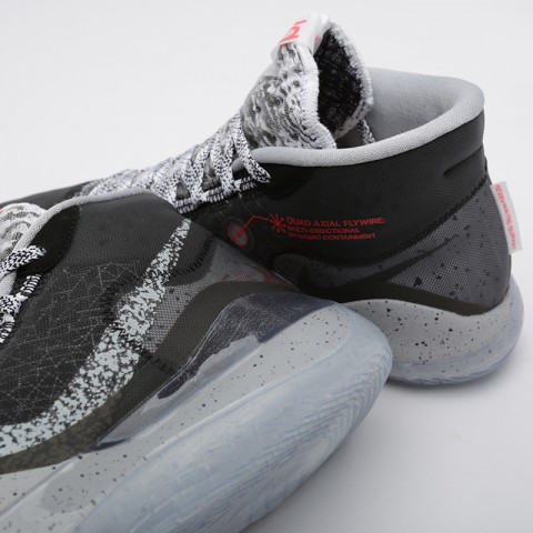 мужские чёрные  кроссовки nike zoom kd12 AR4229-002 - цена, описание, фото 6