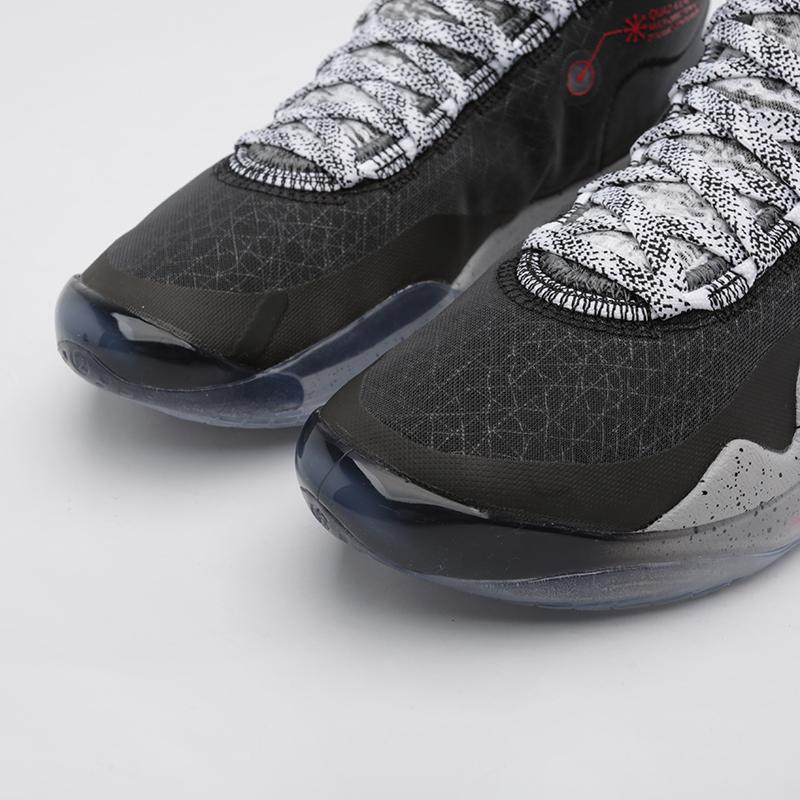 мужские чёрные  кроссовки nike zoom kd12 AR4229-002 - цена, описание, фото 7