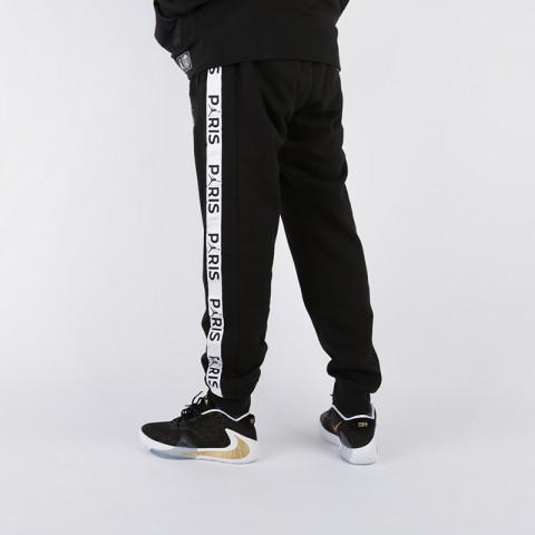 мужские чёрные  брюки jordan psg fleece pant BQ8348-010 - цена, описание, фото 2