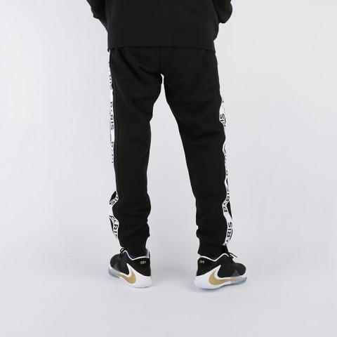 мужские чёрные  брюки jordan psg fleece pant BQ8348-010 - цена, описание, фото 4