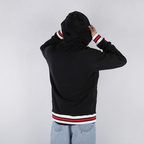 мужскую чёрную  толстовка nike sweat kma hoodie AT3273-010 - цена, описание, фото 2