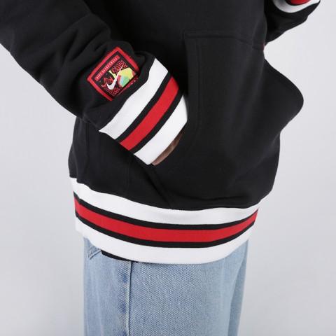 мужскую чёрную  толстовка nike sweat kma hoodie AT3273-010 - цена, описание, фото 4