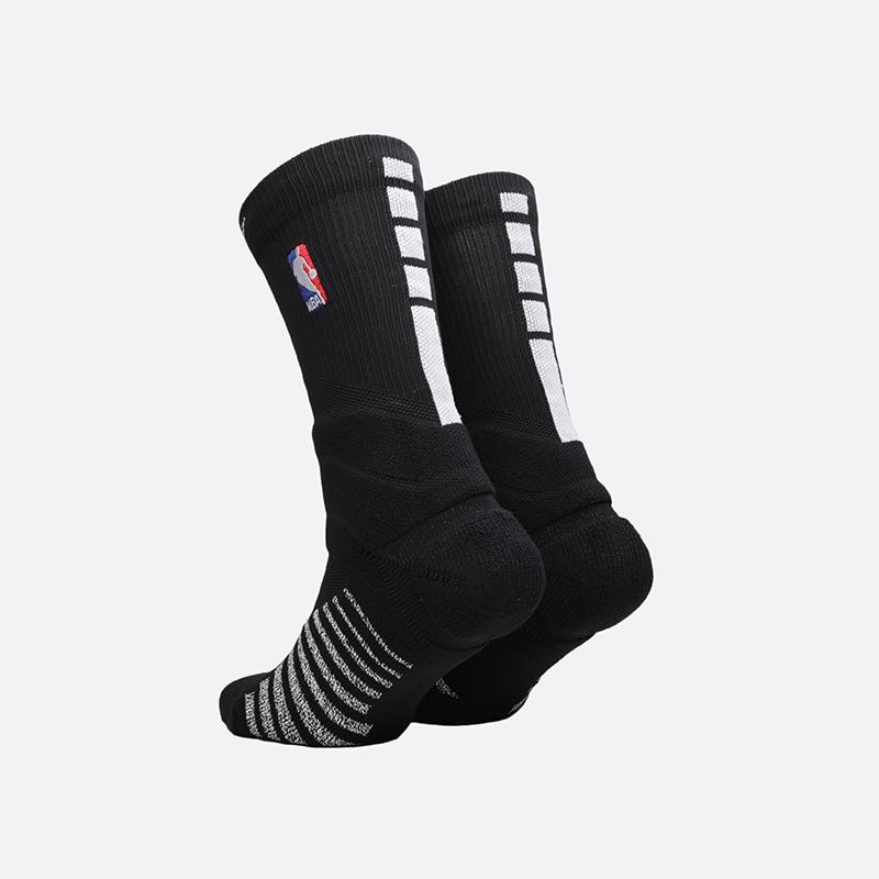 мужские чёрные  носки nike nba power crew SX7585-010 - цена, описание, фото 2