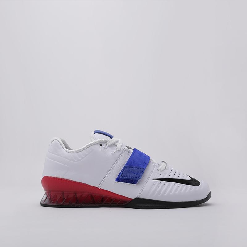 мужские белые  кроссовки nike romaleos 3 xd AO7987-104 - цена, описание, фото 2