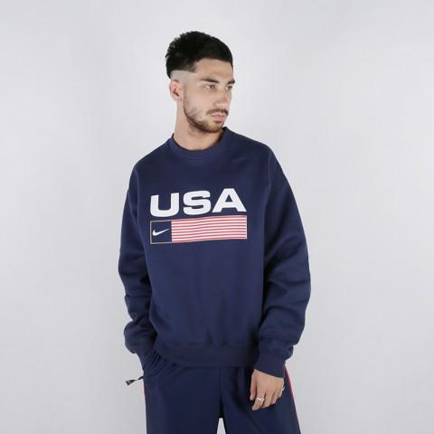Толстовка Nike NRG Crew Swoosh Stripe