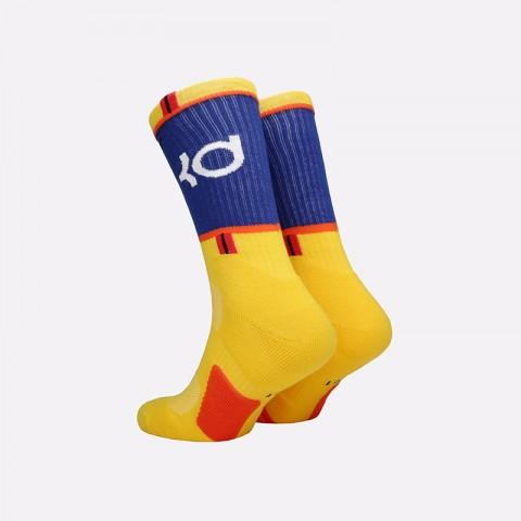 мужские жёлтые  носки nike kd elite crew SX7860-741 - цена, описание, фото 2