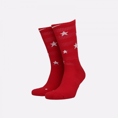 мужские красные  носки nike elite crew SX7424-608 - цена, описание, фото 1