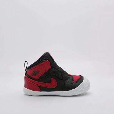 детские чёрные  кроссовки jordan 1 crib bootie AT3745-023 - цена, описание, фото 6