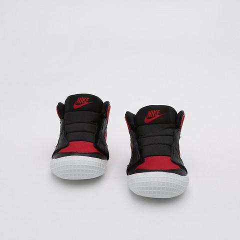 детские чёрные  кроссовки jordan 1 crib bootie AT3745-023 - цена, описание, фото 2