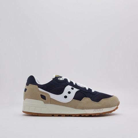 мужские бежевые, синие  кроссовки saucony shadow 5000 S7040420 - цена, описание, фото 2