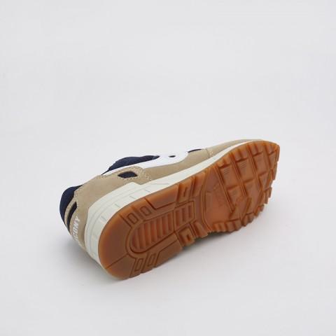 мужские бежевые, синие  кроссовки saucony shadow 5000 S7040420 - цена, описание, фото 3