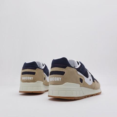 мужские бежевые, синие  кроссовки saucony shadow 5000 S7040420 - цена, описание, фото 4