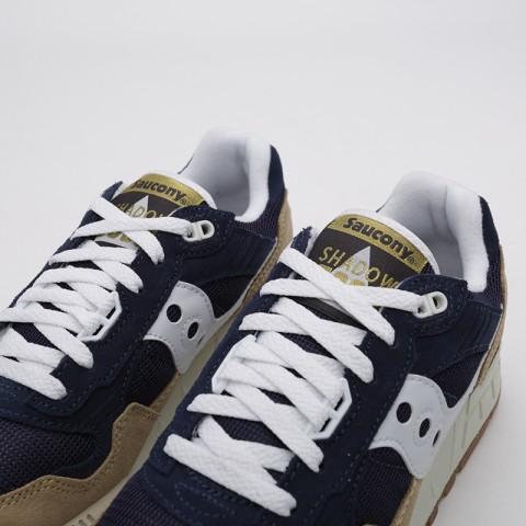 мужские бежевые, синие  кроссовки saucony shadow 5000 S7040420 - цена, описание, фото 6