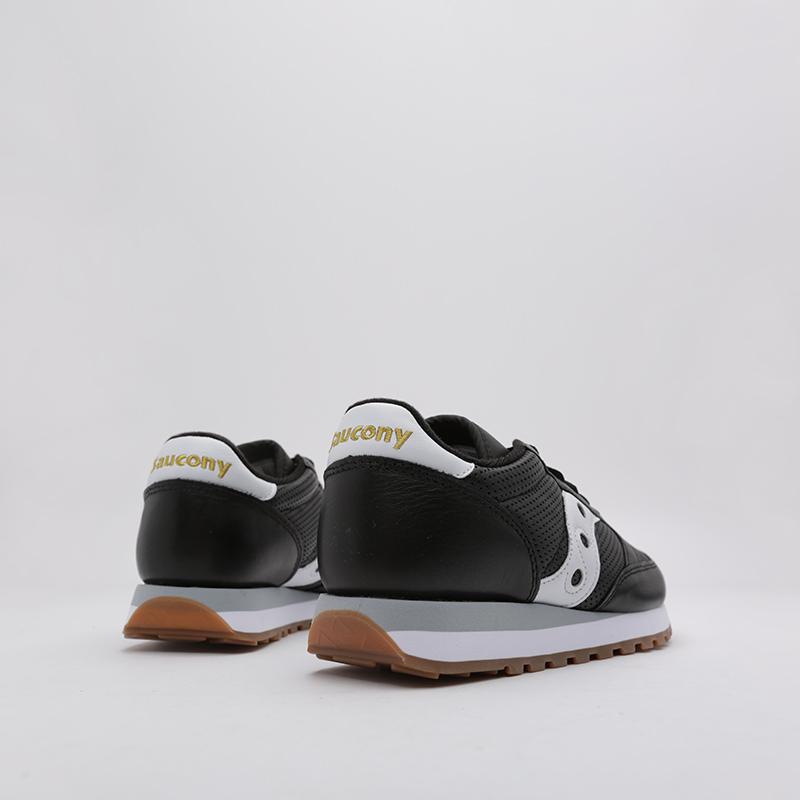 мужские чёрные  кроссовки saucony jazz original S704611 - цена, описание, фото 3