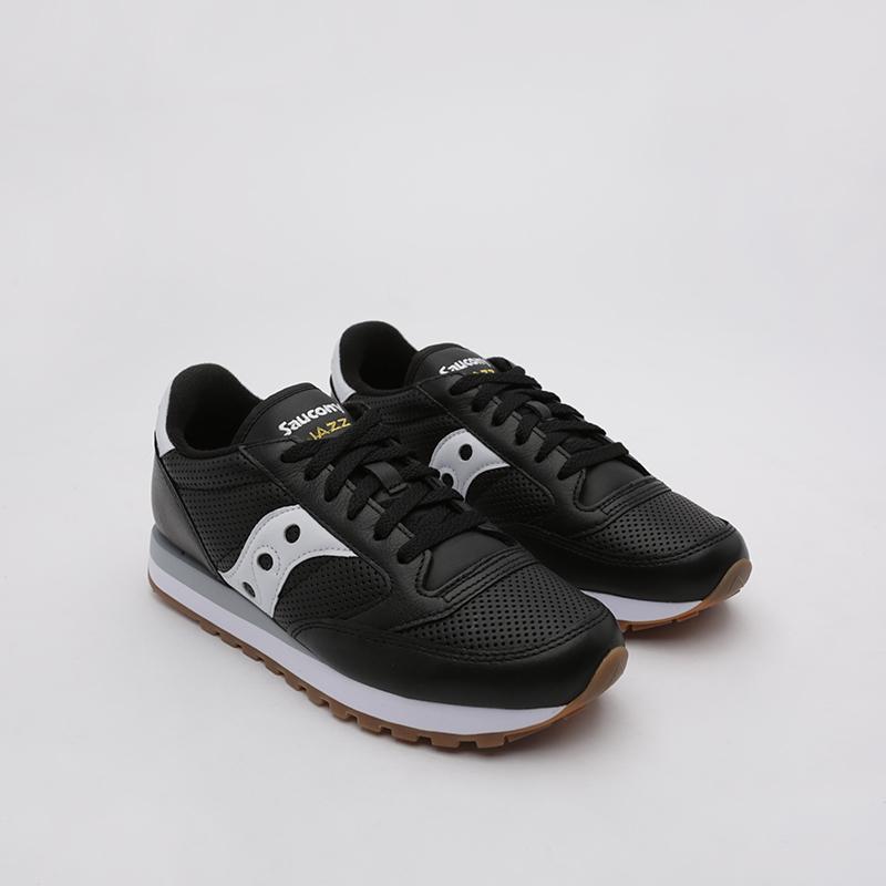 мужские чёрные  кроссовки saucony jazz original S704611 - цена, описание, фото 1