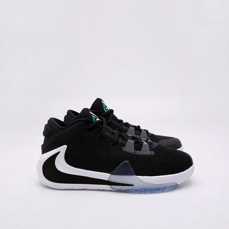 женские чёрные  кроссовки nike freak 1 (gs) BQ5633-001 - цена, описание, фото 3