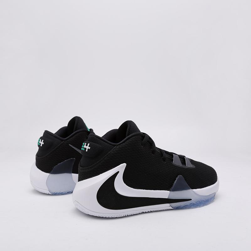 женские чёрные  кроссовки nike freak 1 (gs) BQ5633-001 - цена, описание, фото 2
