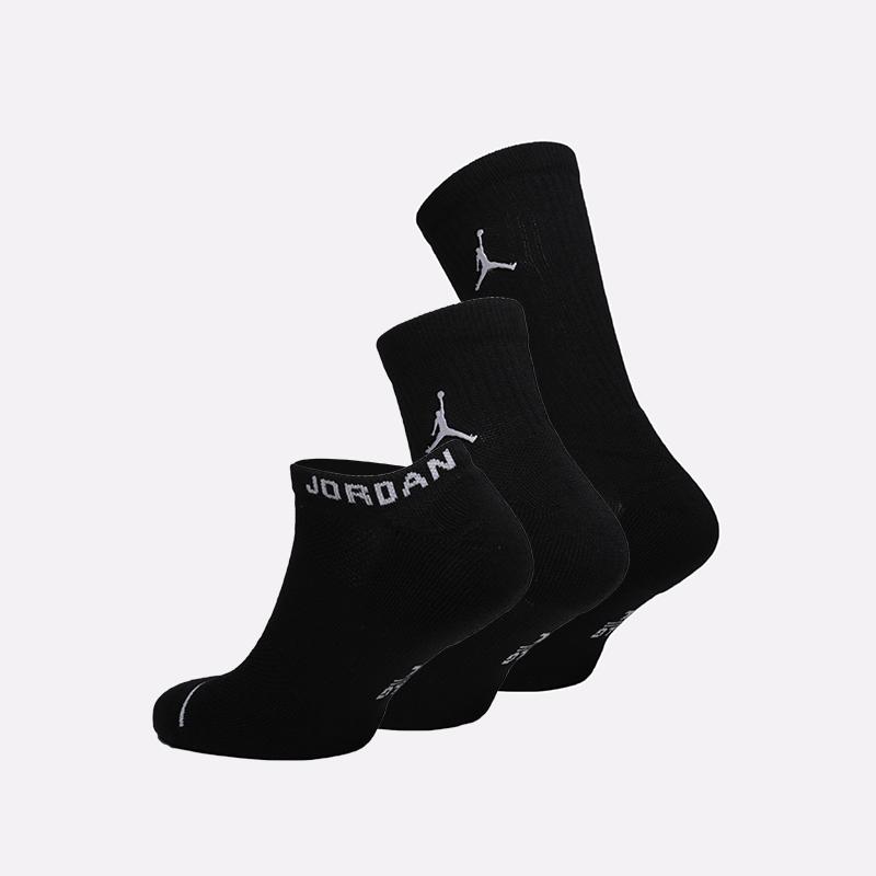 мужские чёрные  носки jordan everyday max SX6274-010 - цена, описание, фото 2