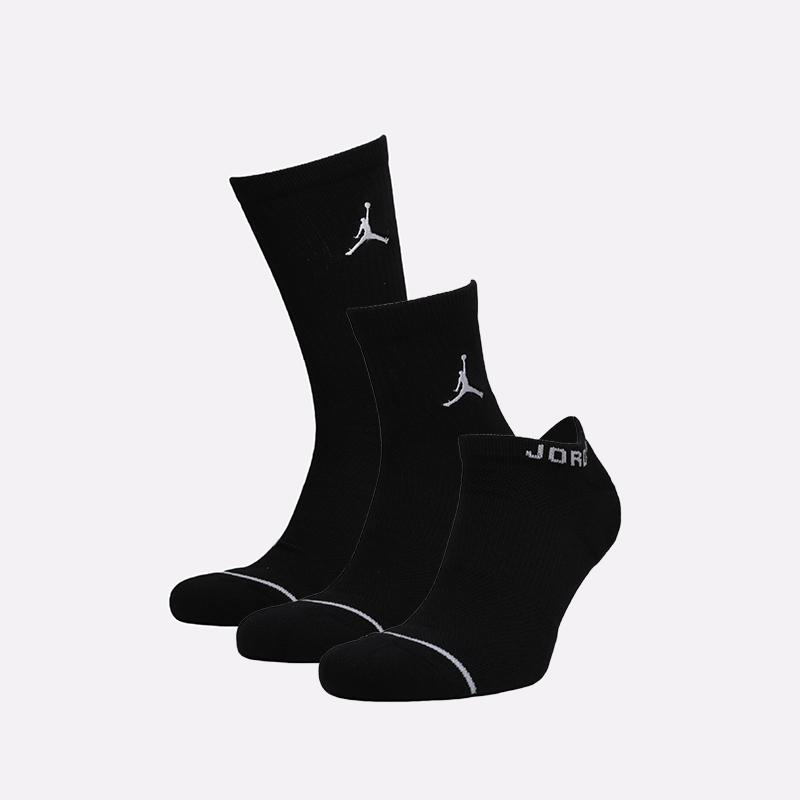 мужские чёрные  носки jordan everyday max SX6274-010 - цена, описание, фото 1