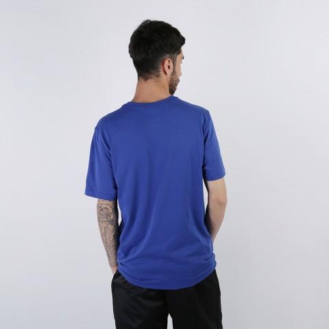мужскую синюю  футболка nike golden state warriors AT0804-495 - цена, описание, фото 3
