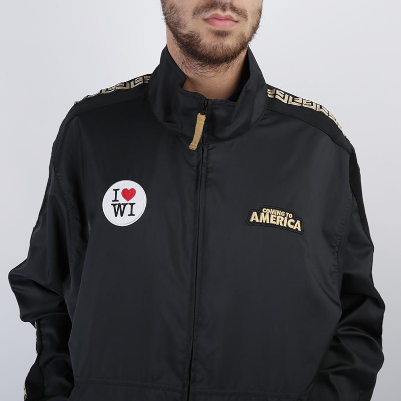 мужскую чёрную  куртку nike giannis 'coming to america' CQ6308-010 - цена, описание, фото 2