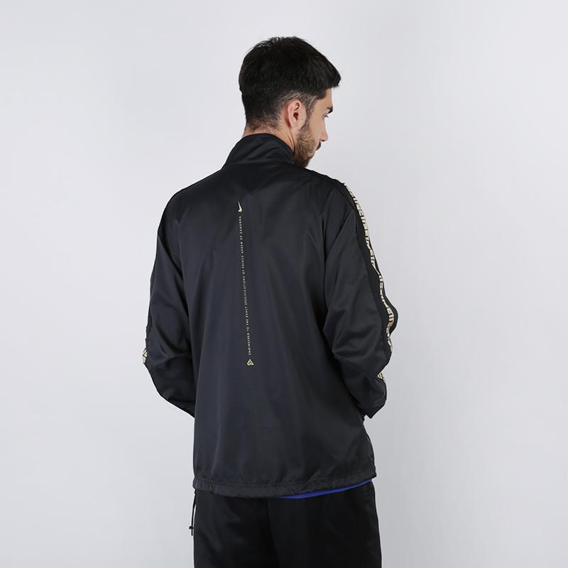 мужскую чёрную  куртку nike giannis 'coming to america' CQ6308-010 - цена, описание, фото 4
