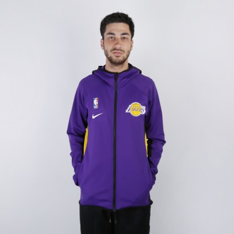 Толстовка Nike Lakers Therma Flex Showtime Zip Hoodie