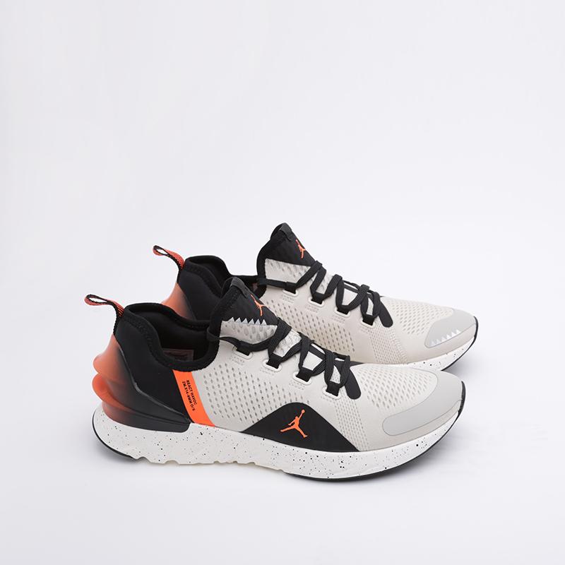 мужские бежевые  кроссовки jordan react havoc AR8815-008 - цена, описание, фото 1