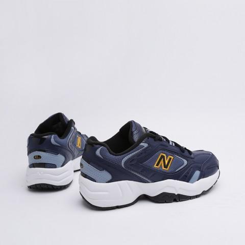 женские синие  кроссовки new balance 452 WX452SW/B - цена, описание, фото 2