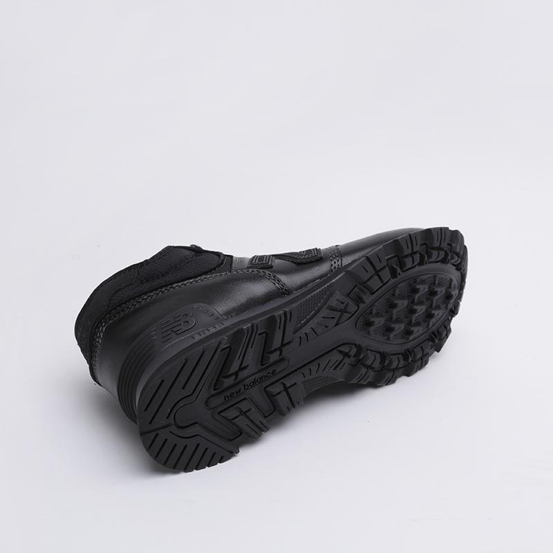 мужские чёрные  кроссовки new balance 574 MH574OAC/D - цена, описание, фото 3