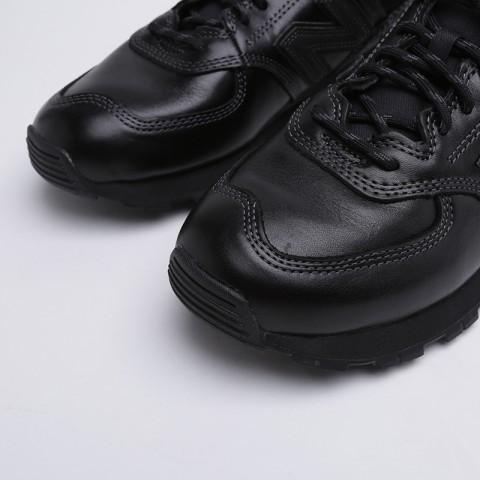 мужские чёрные  кроссовки new balance 574 MH574OAC/D - цена, описание, фото 5