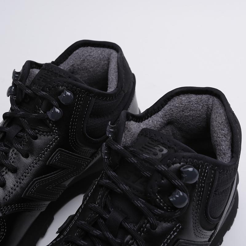 мужские чёрные  кроссовки new balance 574 MH574OAC/D - цена, описание, фото 6