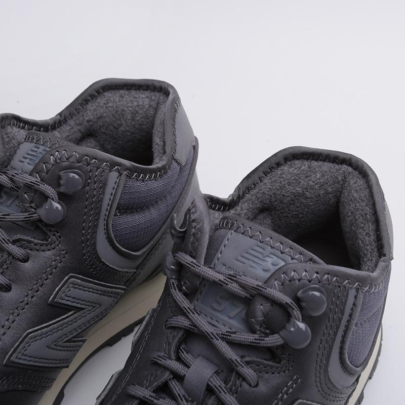 мужские серые  кроссовки new balance 574 MH574OAA/D - цена, описание, фото 6
