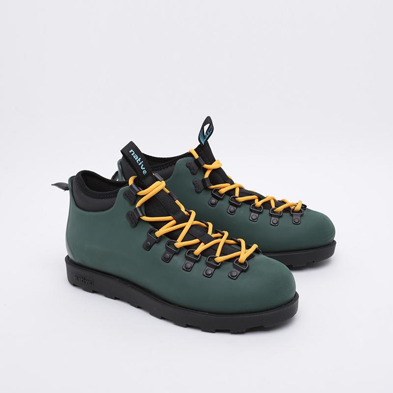 зелёные  ботинки native fitzsimmons citylife 31106800-3157 - цена, описание, фото 2