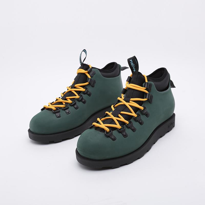 зелёные  ботинки native fitzsimmons citylife 31106800-3157 - цена, описание, фото 3