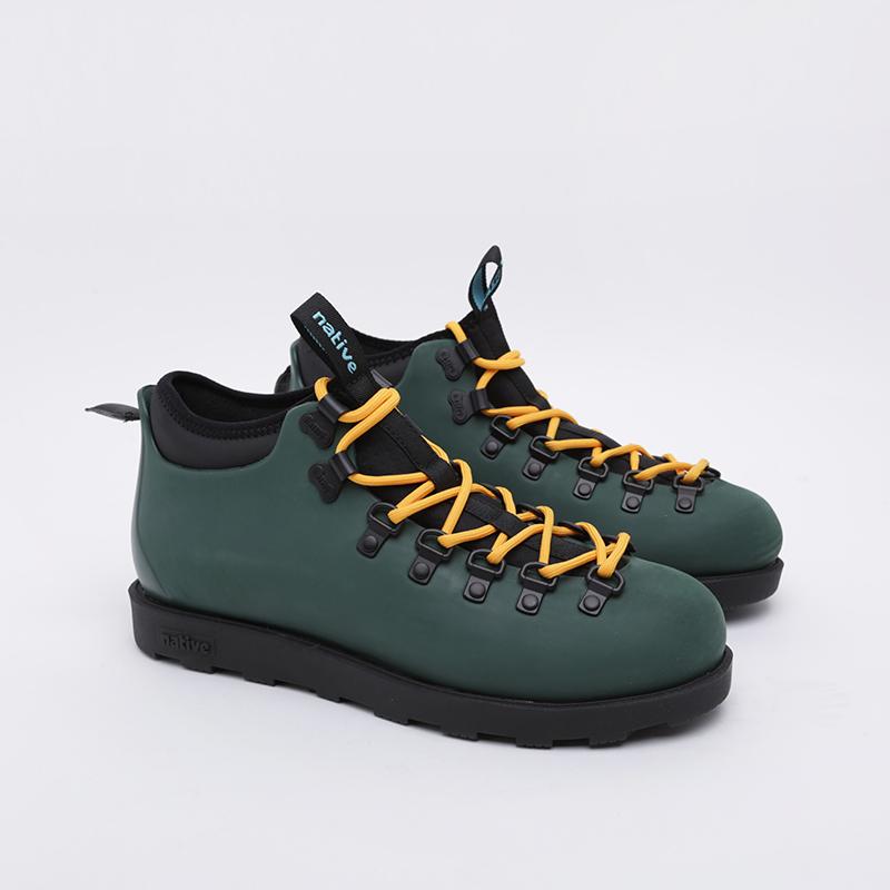 зелёные  ботинки native fitzsimmons citylife 31106800-3157 - цена, описание, фото 1