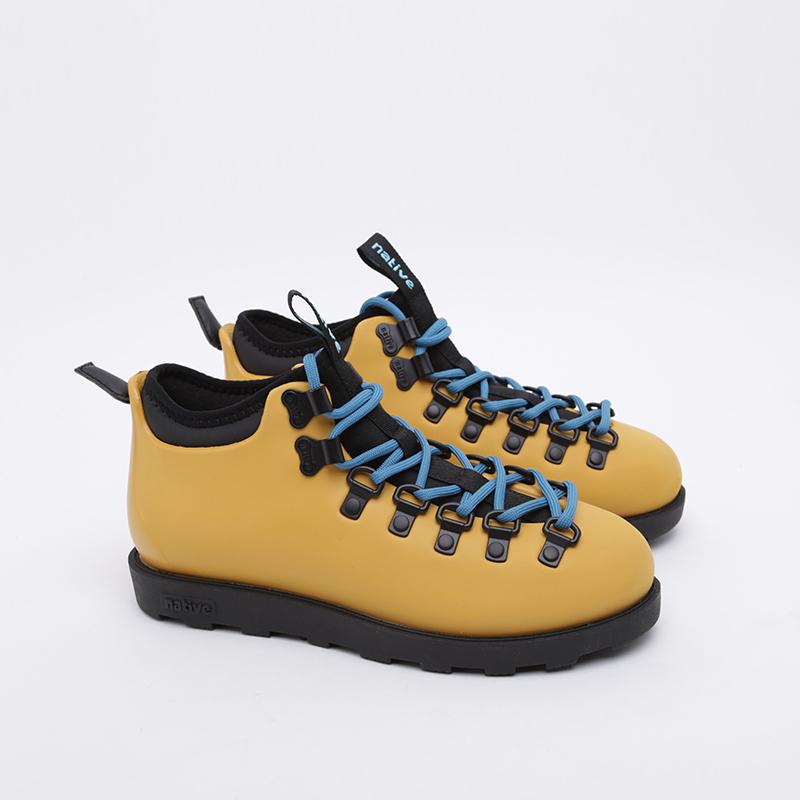жёлтые  ботинки native fitzsimmons citylite 31106800-7546 - цена, описание, фото 1