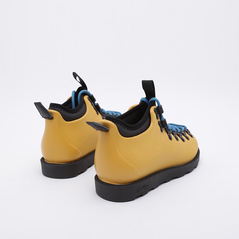 жёлтые  ботинки native fitzsimmons citylite 31106800-7546 - цена, описание, фото 3