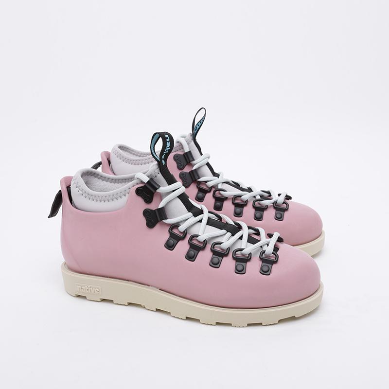 розовые  ботинки native fitzsimmons citylite 31106800-5979 - цена, описание, фото 1