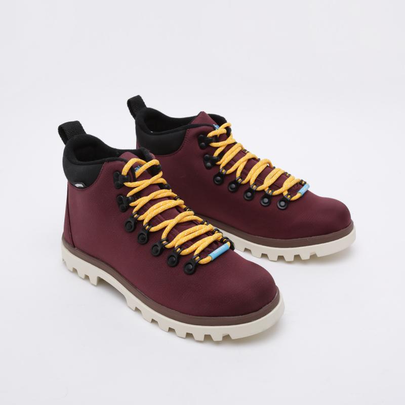 бордовые  ботинки native fitzsimmons treklite 41100630-6112 - цена, описание, фото 2