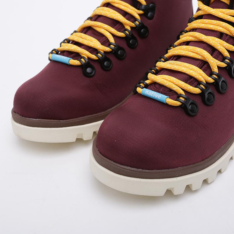 бордовые  ботинки native fitzsimmons treklite 41100630-6112 - цена, описание, фото 5