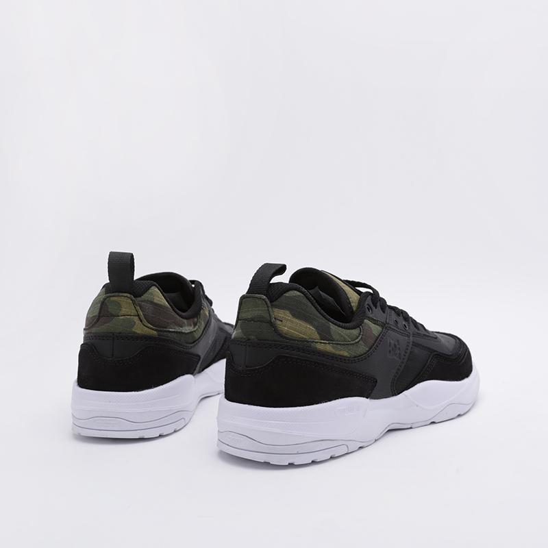 мужские чёрные  кроссовки dc shoes e.tribeka se ADYS700142-0CP-0CP - цена, описание, фото 3